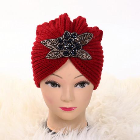 Turban cu model rosu Deli