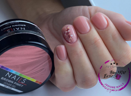 NAILS Cover Brown Pinky Led/Uv 50ml