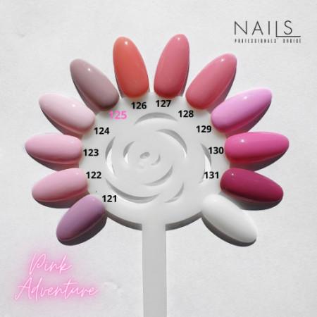 Oja semipermanenta NAILS 123 Soft pink