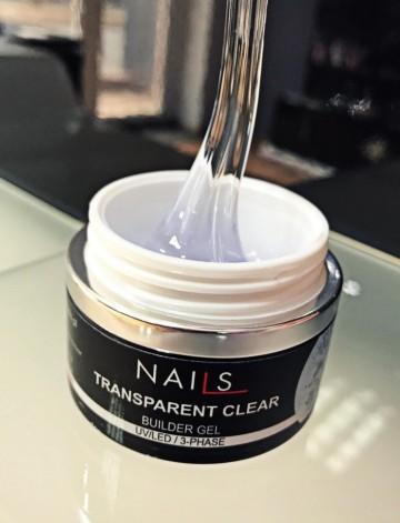 NAILS Transparent Clear Led/Uv - 50ml