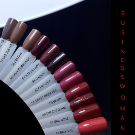 Oja Semi NAILS 049 Cherry Glam