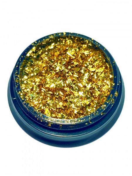 Chrome Effect Gold
