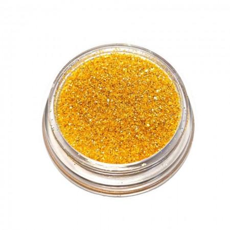 Glitter Broken Mirror Mustard