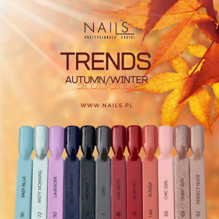Set Trends Autumn 12 Oje semipermanente NAILS