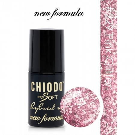 Poze ChiodoPro New Formula 229 Pink Glitter