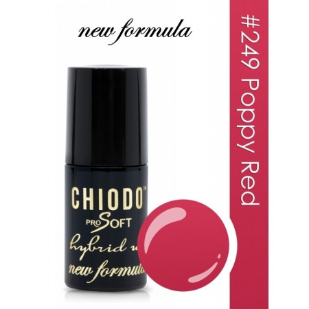 Poze ChiodoPro Soft New Formula 249 Poppy Red