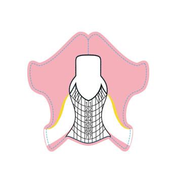 Sabloane Pink 100buc