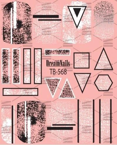 Tatuaj TB-568 (triunghi)