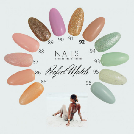 Oja semipermanenta NAILS 92 Perfect Nude