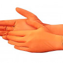 Manusi Nitril Orange Powder Free marimea S - 5 perechi