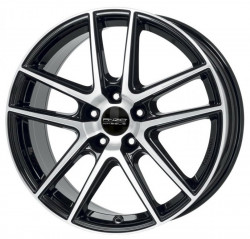 ANZIO SPLITT Black Diamond 6.5x16 5x112 ET41 57.1mm