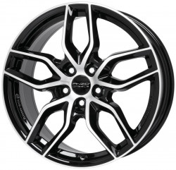 ANZIO SPARK Black Diamond 6.5x16 5x112 ET54 66.5mm