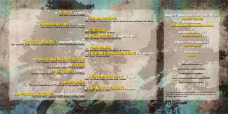 """Sticker """"Specii"""" + Album """"Kazi Ploaie si Specii - Imperiul Lianelor"""" (cd gratuit)"""