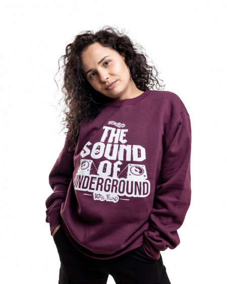 Bluza - The Sound (BURGUNDY)
