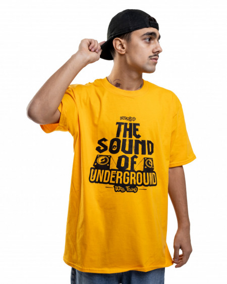 Tricou - The Sound (Galben)
