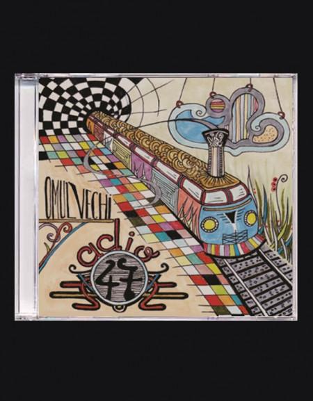 "Sticker ""Dragonu 47"" + Album ""Dragonu' – Adio 47 Omu' Vechi"" (CD gratuit)"