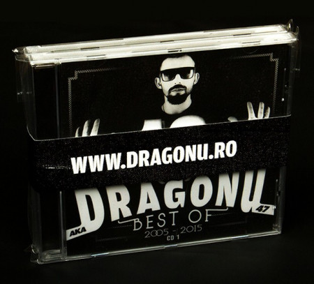 "Sticker ""Dragonu 47"" + Album ""Dragonu – Best Of – 2005-2015"" (Dublu CD gratuit)"
