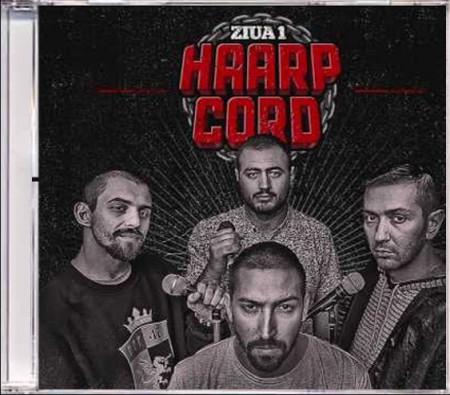 """Sticker + Album """"Haarp Cord – Ziua """"1 (CD gratuit)"""