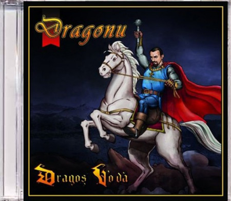 "Sticker ""Dragonu 47"" + Album ""Dragonu' – Dragoș Vo'dă"" (CD gratuit)"