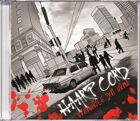 "Sticker + Album ""Haarp Cord – Vremuri din Urmă"" (CD gratuit)"
