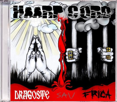 "Sticker + Album ""Haarp Cord – Dragoste si Frică"" (CD gratuit)"