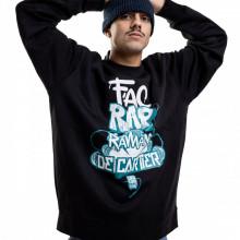 Bluza - Fac Rap (NEGRU)