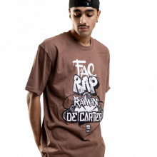 Tricou - Fac Rap (Maro)