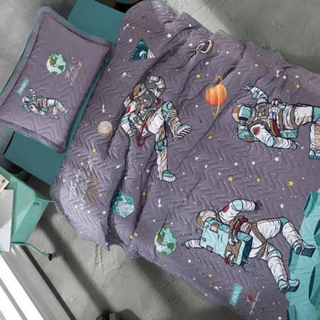 Cuvertură de pat Clasy-matlasată o persoană (SPACE)