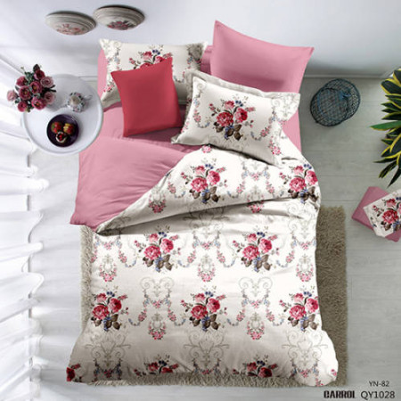 Lenjerie de pat poplin - două persoane (QY-1028)