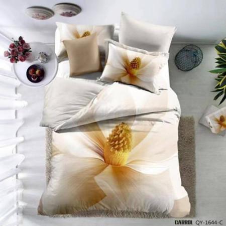 Lenjerie de pat poplin - două persoane (A-QY-1644-C)