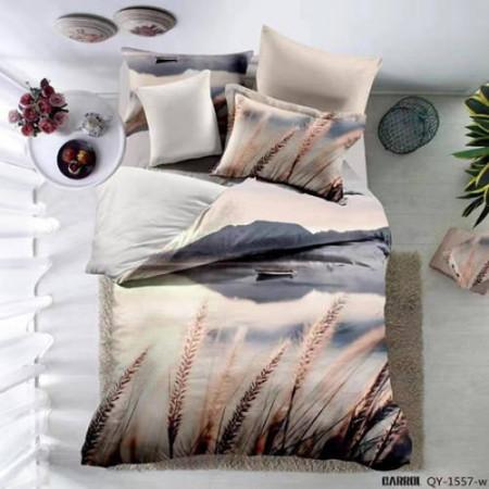 Lenjerie de pat poplin - două persoane (A-QY-1557-W)