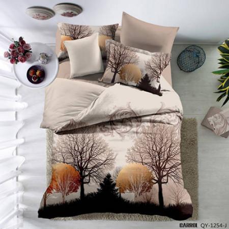 Lenjerie de pat poplin - două persoane (QY-1254)