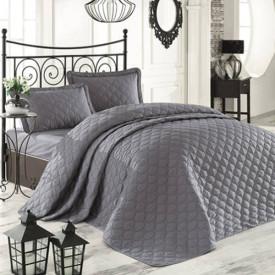 Cuvertură de pat Clasy-matlasată 2 persoane - RABEL V1