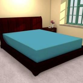 Husa de pat tricot cu inaltimea standard de 25cm (TURCOAZ) 140x200cm
