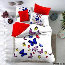 Lenjerie de pat poplin - două persoane (A-BD-13)