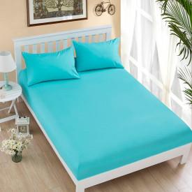 Husa de pat tricot cu inaltimea standard de 25cm (TURCOAZ) 180x200cm