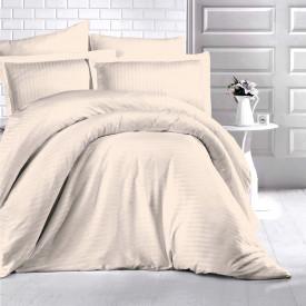 Lenjerie de pat damasc HORECA (GROS) - CAPPUCCINO Două persoane
