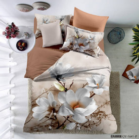 Lenjerie de pat poplin - două persoane (QY-1641)