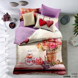 Lenjerie de pat poplin - două persoane (QY-840)
