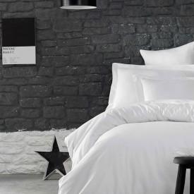 Lenjerie de pat policoton uni sau embosat - TAMPA - două persoane