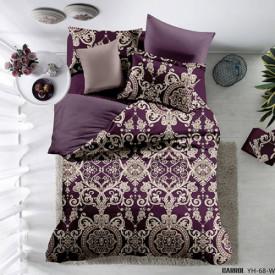 Lenjerie de pat poplin - două persoane (YH-67)