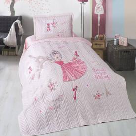 Cuvertură de pat Clasy-matlasată o persoană (ROMANTIC GIRL)