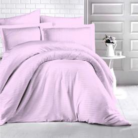 Lenjerie de pat damasc HORECA (GROS) - LILA Două persoane