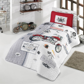 Cuvertură de pat Clasy-matlasată o persoană (ARIZONA)