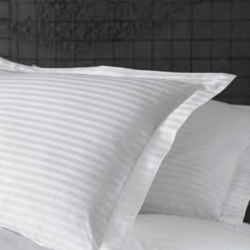 Lenjerie de pat damasc linear - ROGER - o persoană /disponibil dunga 1, 2 și 3cm