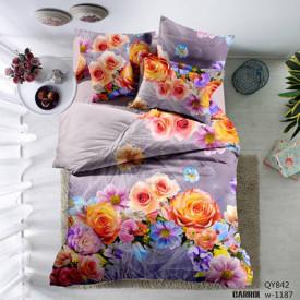 Lenjerie de pat poplin - două persoane (QY-842)