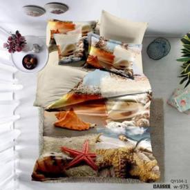 Lenjerie de pat poplin - două persoane (A-QY104-1)