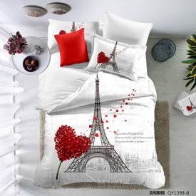 Lenjerie de pat poplin - două persoane (QY-1399)