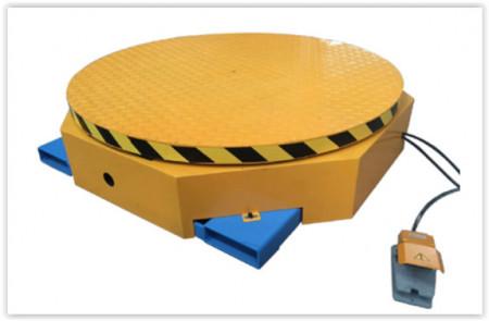 Platforma rotativa pentru ambalarea marfurilor