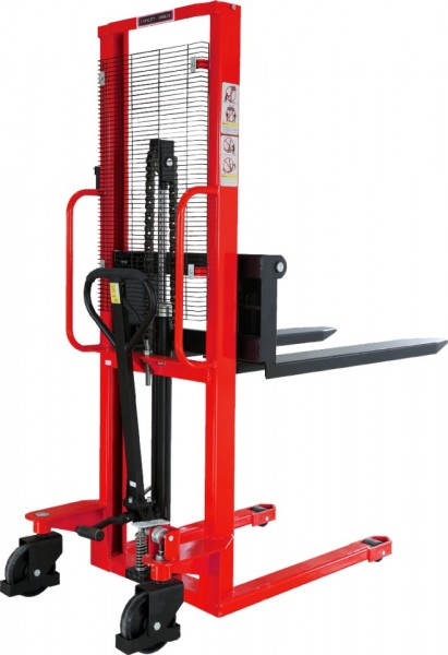 MS15-16, STIVUITOR MANUAL CAPACITATE 1.500 KG, INALTIME RIDICARE 1.600 MM